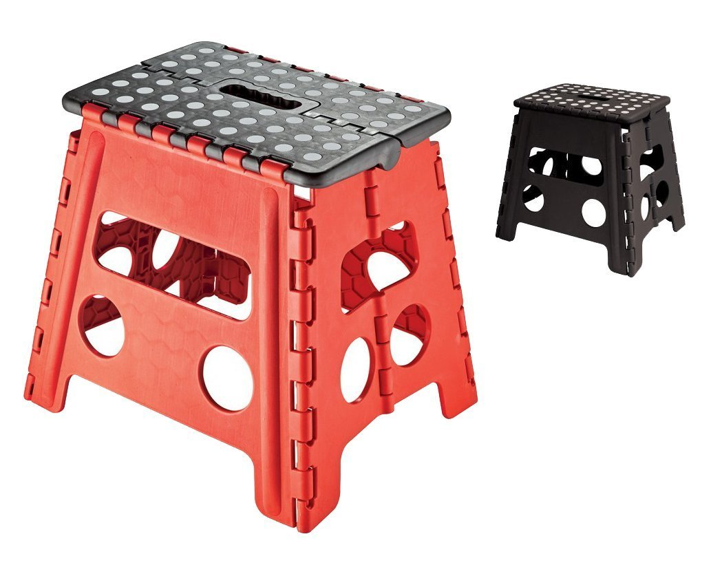 Amazon.com Easy Life Carry Folding Step Stool / Seat With Anti-Slip Surface 13 Inch For Kids Works Home - Black Kitchen u0026 Dining  sc 1 st  Amazon.com & Amazon.com: Easy Life Carry Folding Step Stool / Seat With Anti ... islam-shia.org