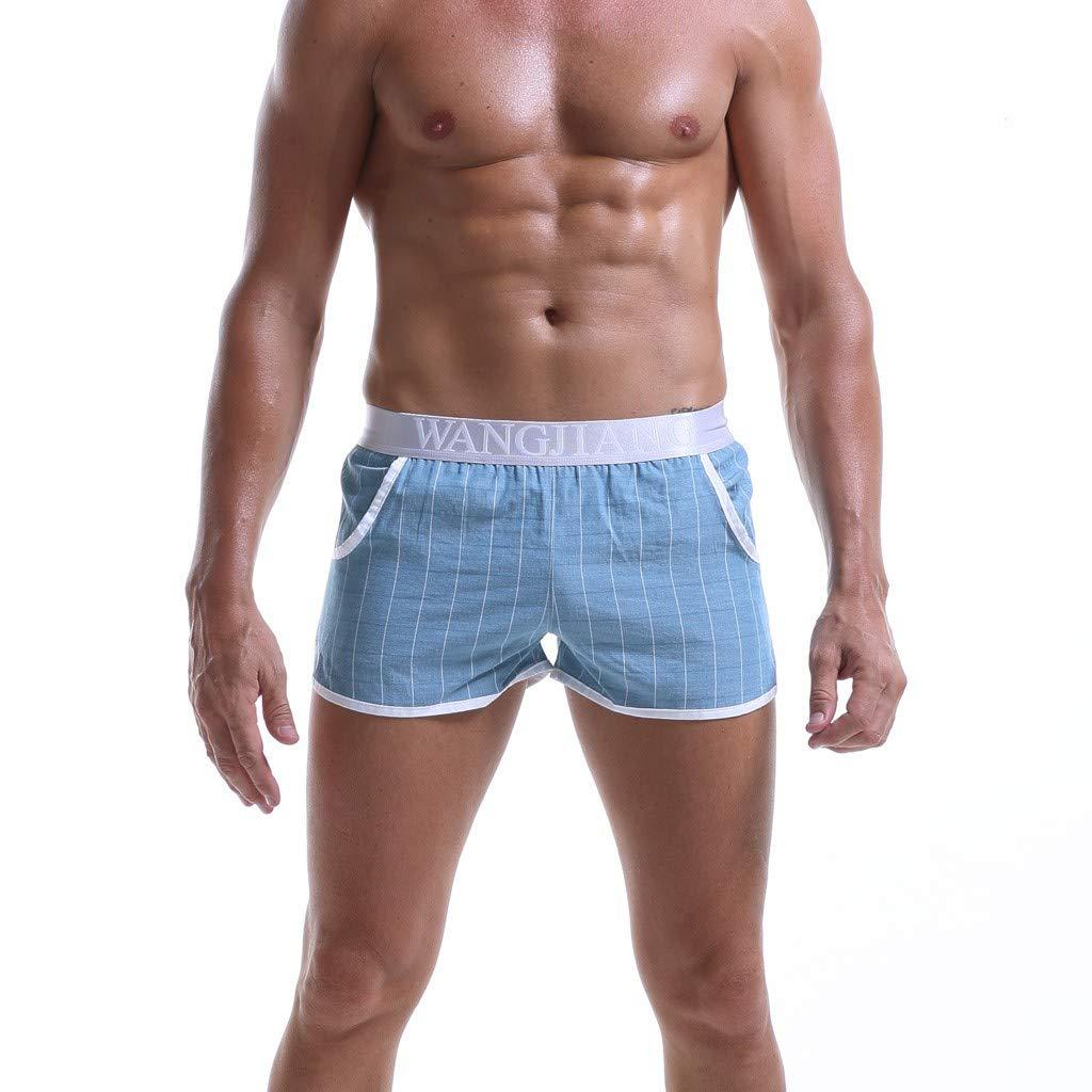 Donci Pants PANTS メンズ B07QYTCJ16 ブルー XX-Large