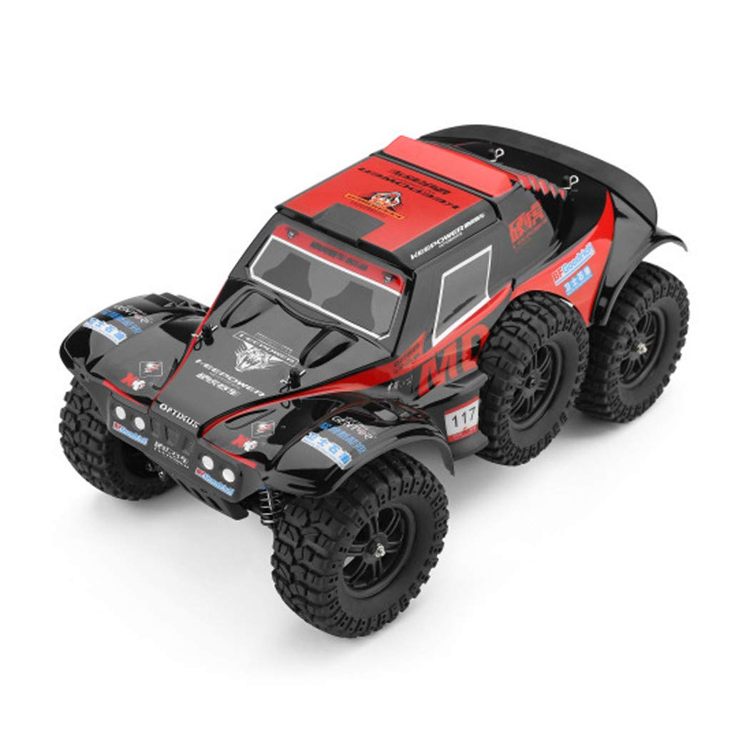 Hot  Wl 540 Brush Motor RC Off-Road Car 1:12 2.4G 4WD 60km/h High Speed Radio Remote Control Car Racing, RC Car Toys for Kids Age 8+ (red) by Hisoul (Image #10)