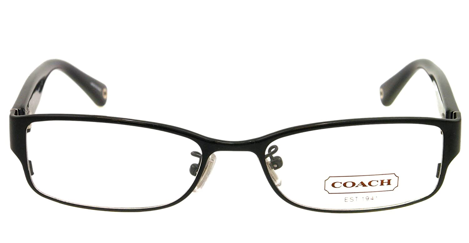Amazon.com: Coach Women\'s HC5031 Eyeglasses Black 53mm: Coach: Shoes