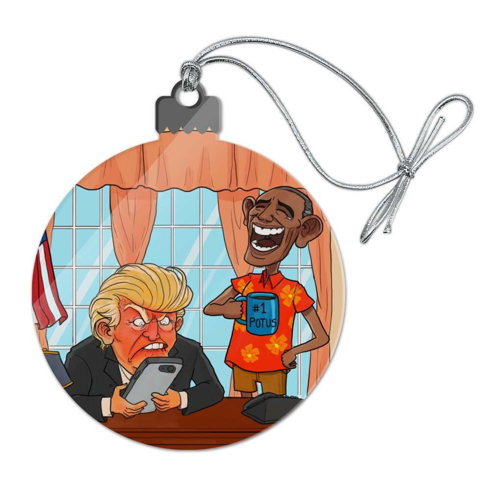 Anti-Trump Christmas Ornaments