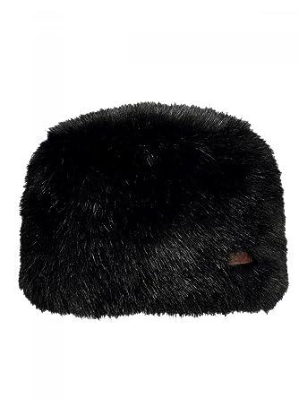 Barts-Toque imitation fourrure noir Modèle junior et femme  Amazon ... a407ac371d2