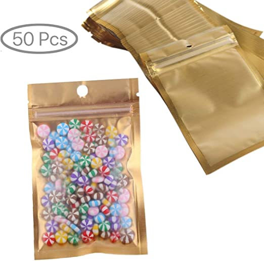 "100 x Reclosable 3/"" x 8/"" Zip Lock Clear Bags Jewelry Gift Ziplock 7.5 x 20 cm"