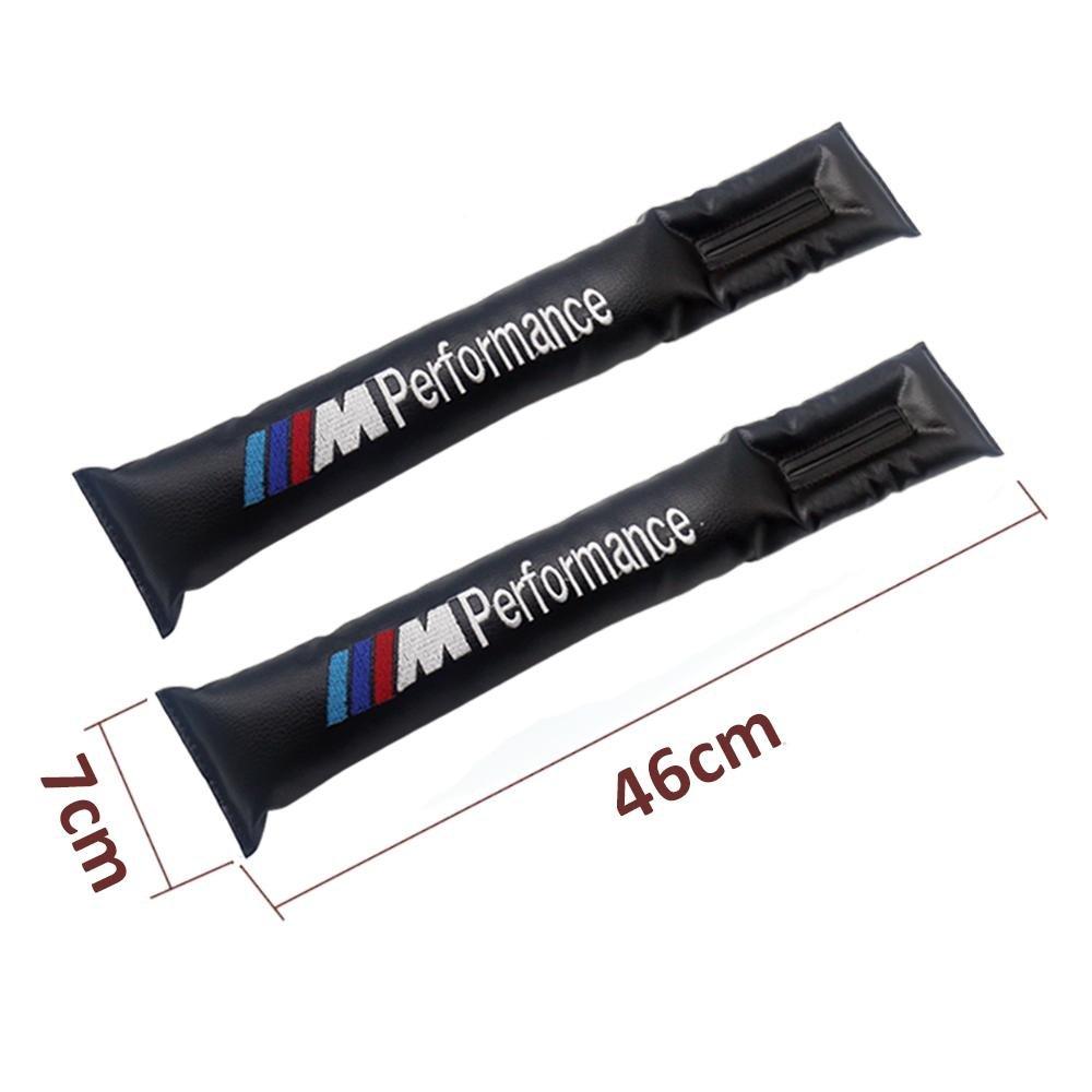 lot de 2 Tampon de Protection Int/érieur /Étanche Valuetom Si/ège de Voiture Gap Filler Pad avec /Étiquette de Broderie