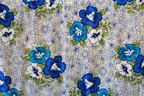 Hibiscus Print Fabric - 8