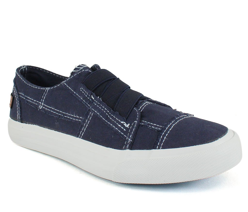 Blowfish Women's Marley Pure Navy Colorwashed Canvas 9 M US M