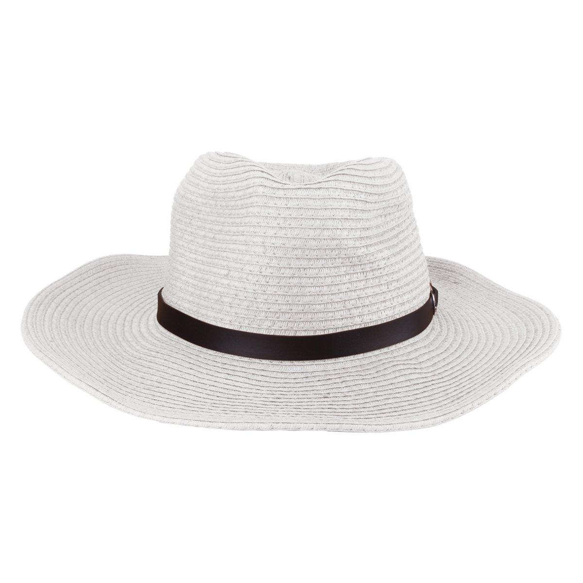 ... Mens Straw Sun Western Cowboy Hat Fedora Outdoor Wide Brim Hat with  Strap ... e494bdbff84a