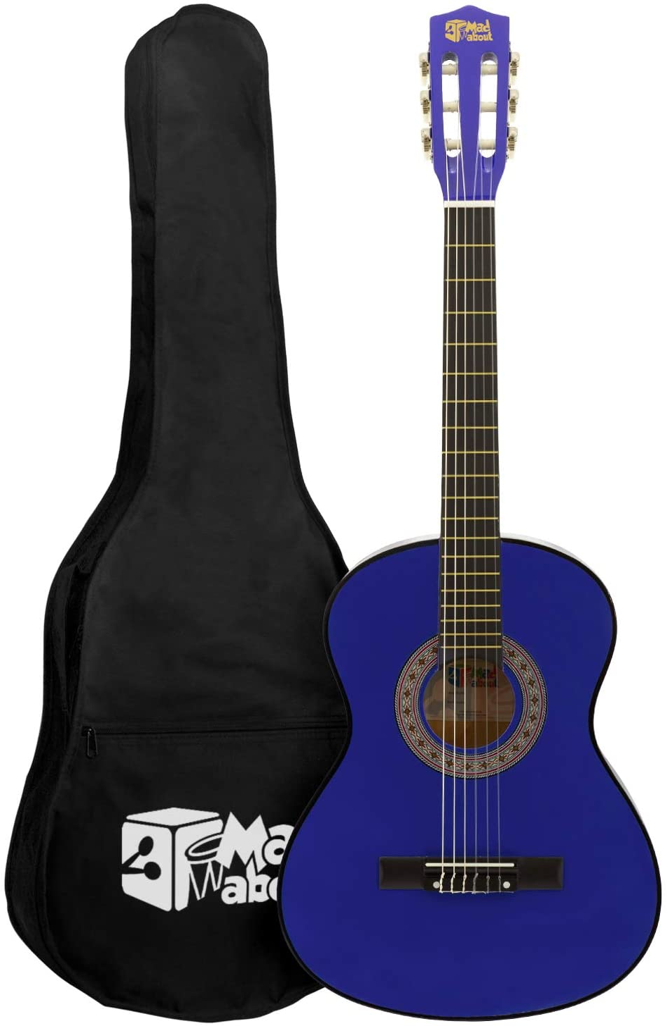 Mad About MA-CG04 - Guitarra clásica (tamaño 1/4, incluye bolsa de ...