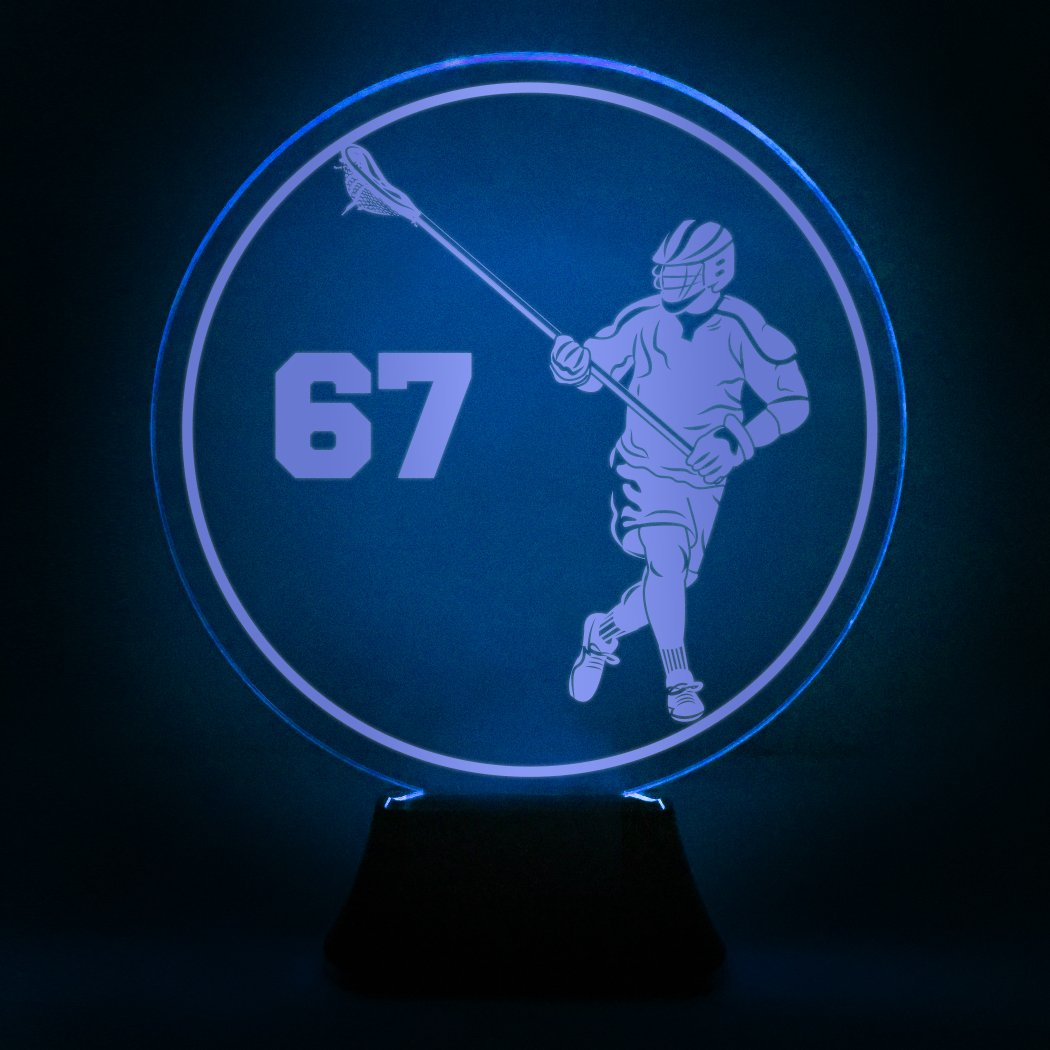 Chalktalksports Led LampLax Designs Multiple Acrylic Lacrosse Lamps WdeBCrxQo