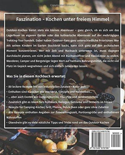 Camping Küche Rezepte Buch | Outdoor Kuche Das Camping Kochbuch Die 80 Besten Rezepte Fur Das