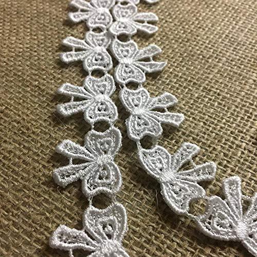 Lace Trim Bowtie Ribbon Design Venise, 1