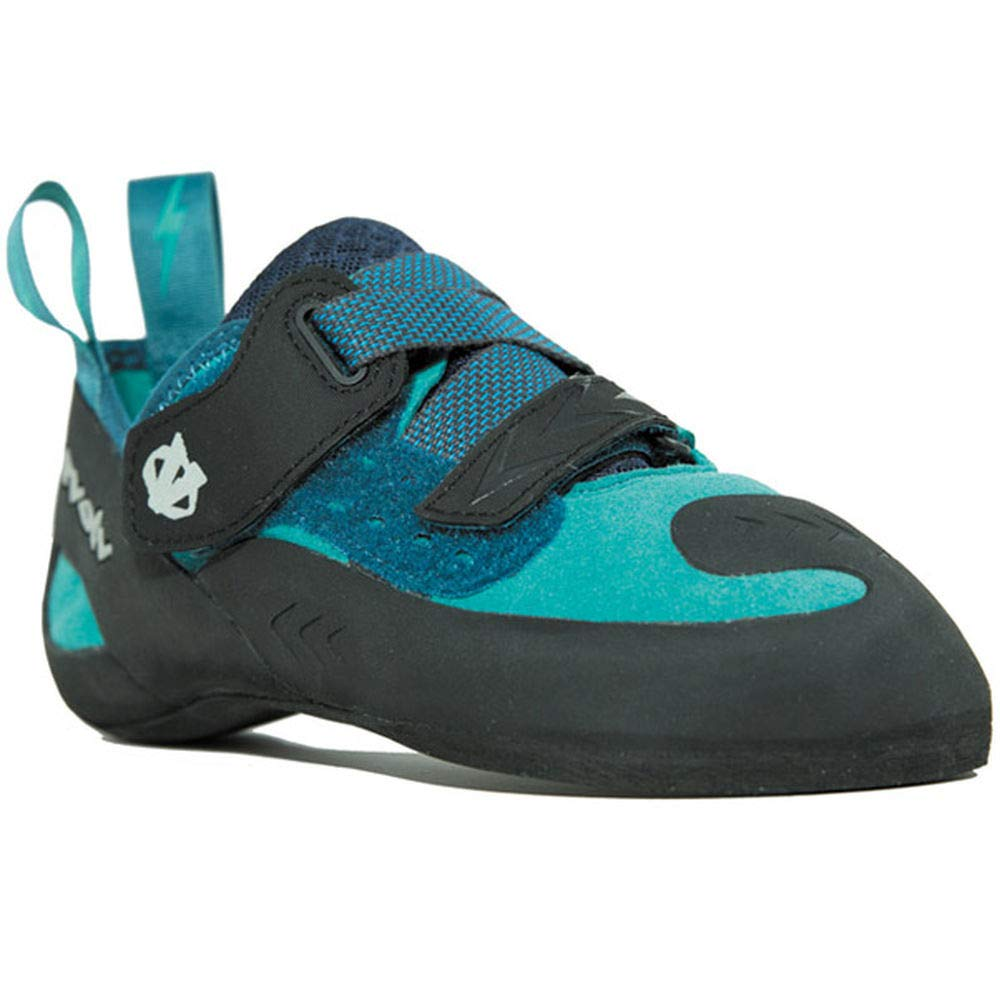 Evolv Kira Climbing Shoe - Women's Teal 5 (Closeout)