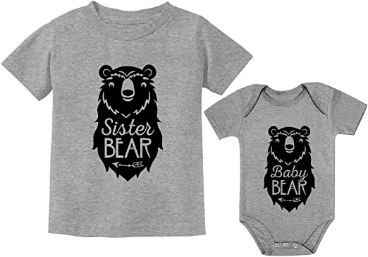 Lil Panda Baby Vest Cute Bear Animal Face Zoo Gift Top Girls Boys Brother Sister