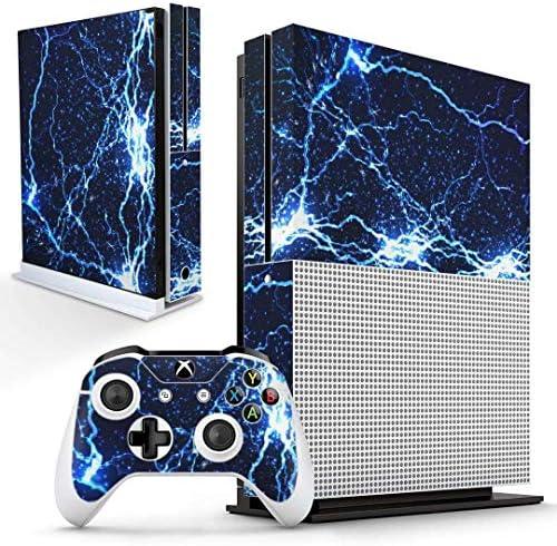 igsticker Xbox One S 専用 スキンシール 正面・天面・底面・コントローラー 全面セット エックスボックス シール 保護 フィルム ステッカー 006500