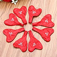 Partyclub Red I Love You Balloons Wedding Decorations Pack of 1 bag