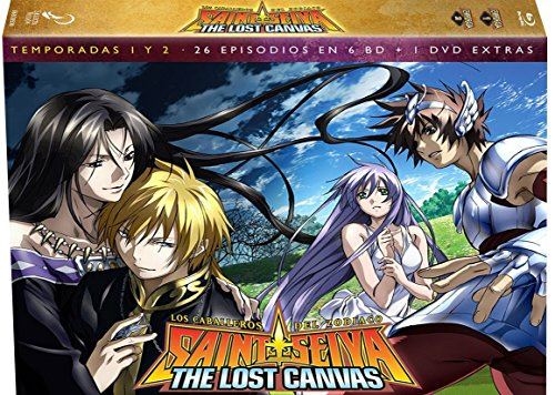 os Caballeros Del Zodiaco. Saint Seiya The Lost Canvas - Temporada 1+2 (Saint Seiya The Lost Canvas)