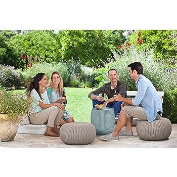 Amazon Com Keter Cozy Urban 3 Pc Nesting Conversation