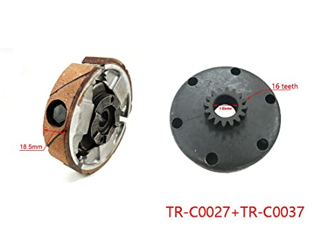 Amazon com: Complete Clutch Pad & Flywheel Basket Set for