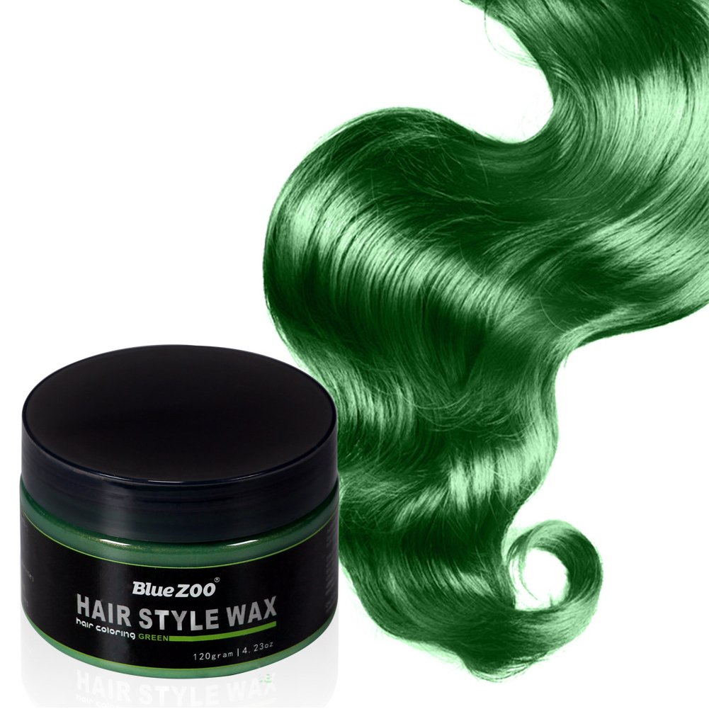 Hinmay Styling Hair Wax 120g Professional Hair Styling Wax Temporary Hair Coloring Wax Mud 7 Colors Best Salon Professional Product For Doing Modeling Green Amazon In Home Kitchen