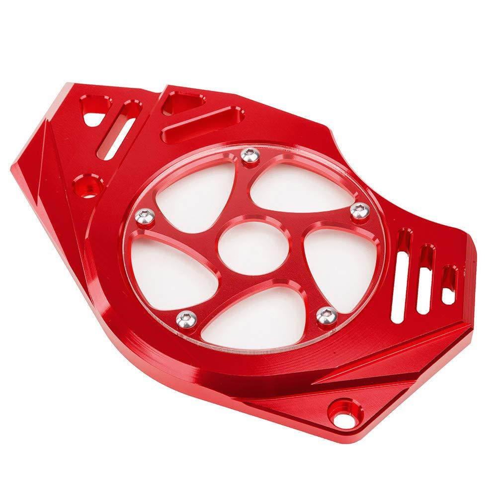 FATExpress Motorcycle Billet CNC Aluminum Front Chain Guard Sprocket Engine Cover For Kawasaki Ninja Versys Vulcan S 650 2006 2007 2008 2009 2010 2011 2012 2013 2014 2015 2016 Green