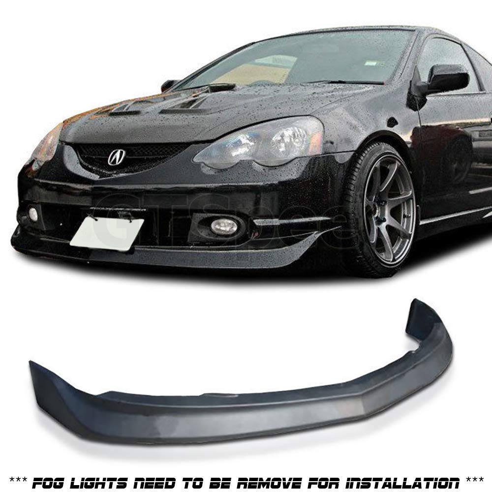 GT-Speed made for 2002-2004 ACURA RSX DC5 MU Style PU Front Bumper Lip