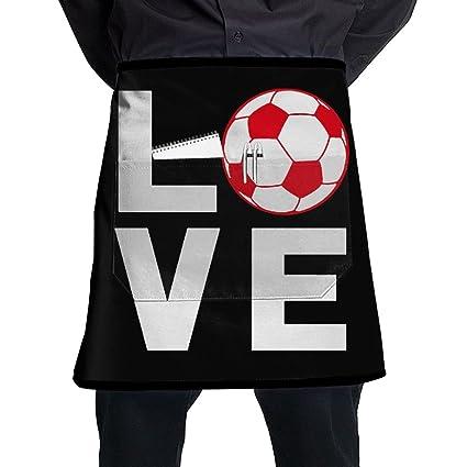 Amazon.com  GLASI5 Football Apron With Pockets Adjustable Cooking ... 1b241fdd4c