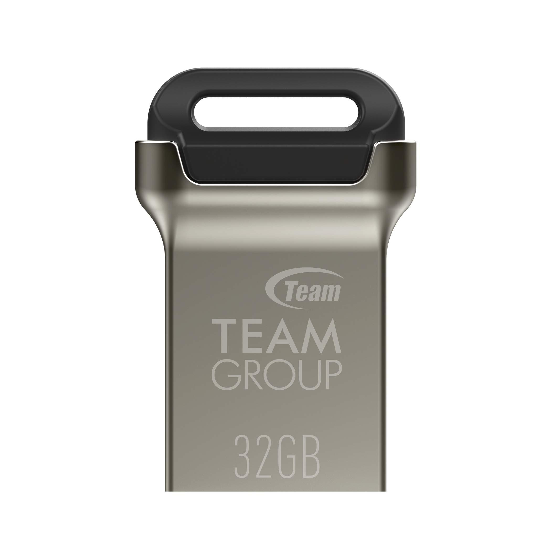 5 Pendrives TEAMGROUP C162 32GB USB 3.2 Gen 1 3.1/3.0 Mini F