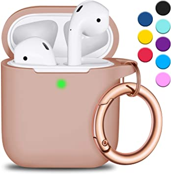 Amazon Com Airpods Case Cover With Circle Keychain Full
