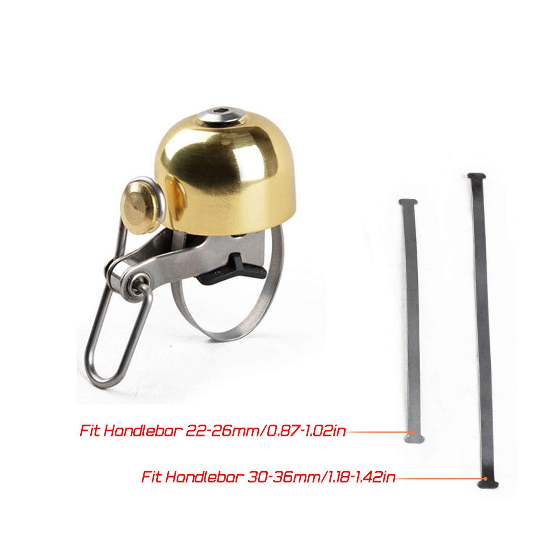 Classic Mental Bicycle Cycling Loud Bell Horn Ring for Boys Girls Kids Mini Bike