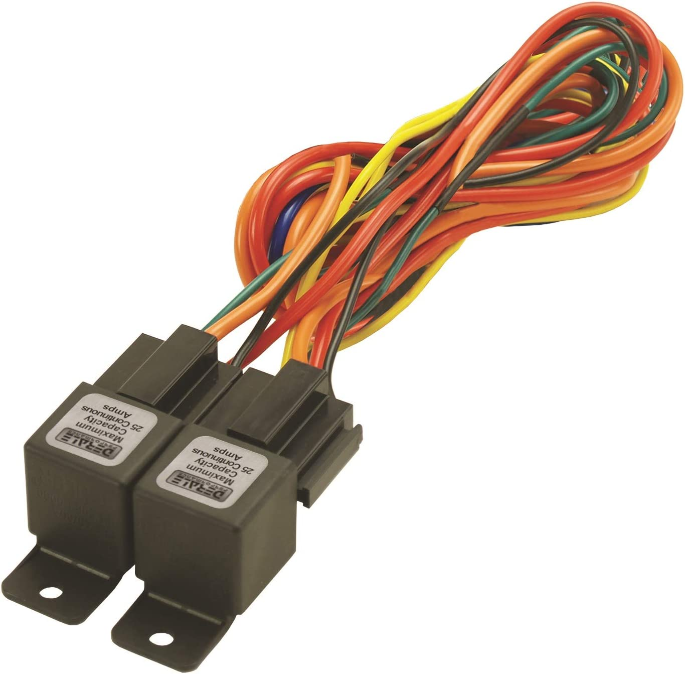 [QNCB_7524]  Amazon.com: Derale 16765 Electric Fan Dual Relay Wire Harness: Automotive | Derale Relay Wiring Diagram |  | Amazon.com