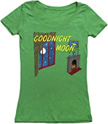 Out of Print Women's Classic Children's Book-Themed Scoop Neck Tee T-Shirt