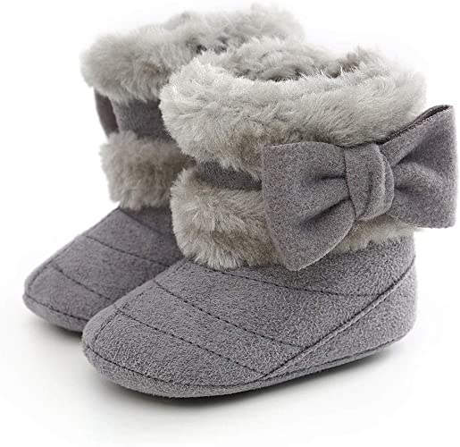 Infant Boots Winter Warm Baby Girl Shoes Toddler Soft Sole Anti Slip Snow Prewalker Newborn Baby Boy Boots