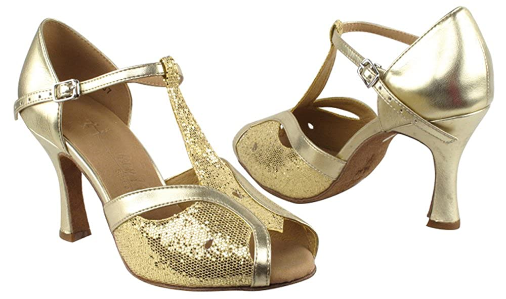 [Very Fine Shoes] レディース B00GDJ00VQ Gold Scale & Light Gold 8 B(M) US