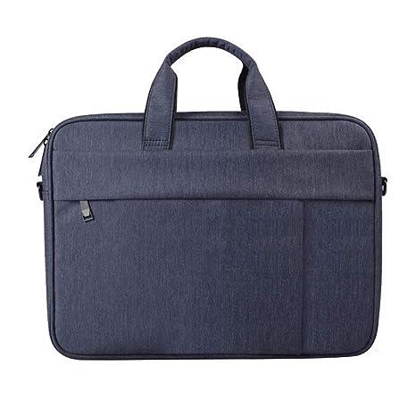 Bolsa de hombro del ordenador portátil de la tela impermeable de la caja Maletín portátil para