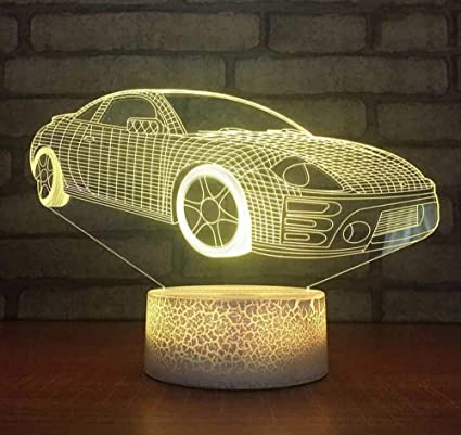 Amazon.com : Night Light Wall Lamp Led Lamp Novedad 3D Led Bebé ...