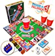 """DRINK-A-PALOOZA Board Game: The """"Monopoly"""" of Drinking Games & Adult Games featuring Beer Pong, Flip Cup & all the best Games for Adults"""