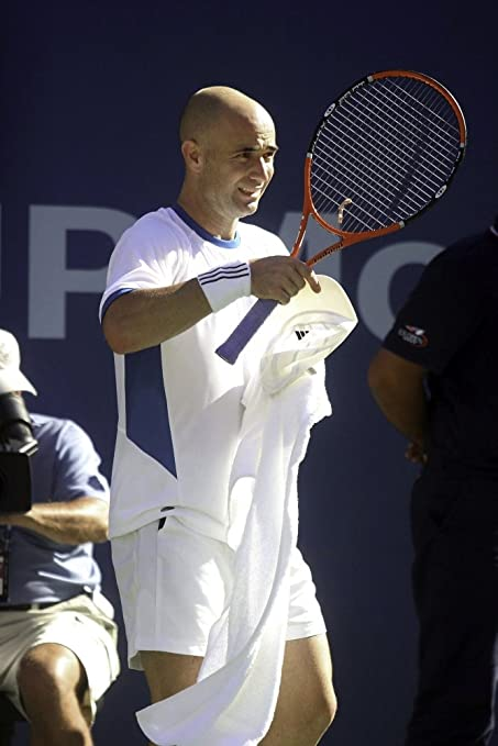 Andre Agassi at the US Open Photo Print 24 x 30