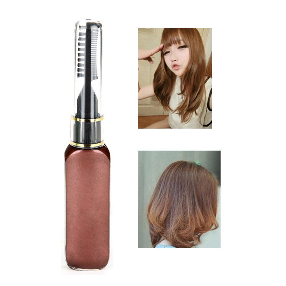Hair Mascara White, Molie Professional Hair Dye Temporary Hair Color Non-toxic Streaks Touch Up