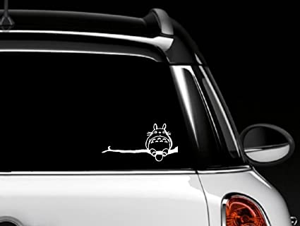 Totoro car window decal vinyl sticker