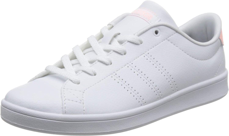 Deambular acre Tierra  adidas Women's Advantage Clean Qt Fitness Shoes: Amazon.co.uk: Shoes & Bags