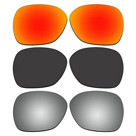 039aece192 Amazon.com   ACOMPATIBLE 3 Pair Replacement Polarized Lenses for ...