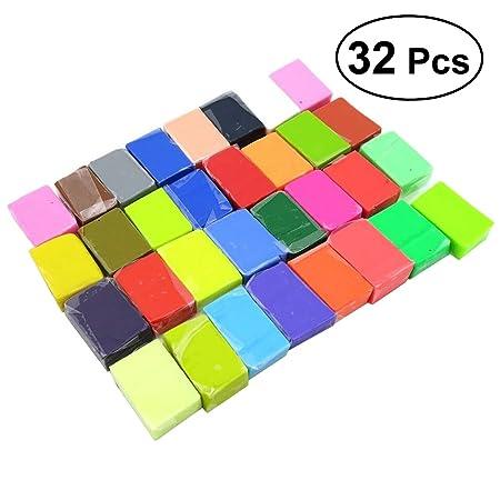 ULTNICE arcilla polimérica para niños DIY modelado bloques de ...