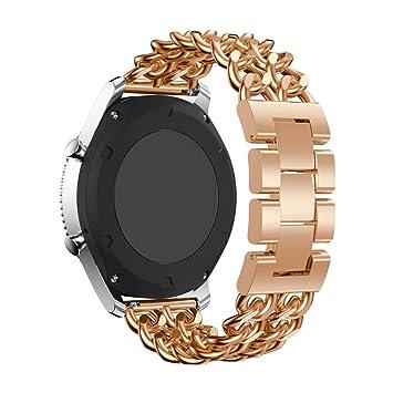 peibo sw78 para Samsung Gear S3 Metal cadena estilo pulsera reloj ...