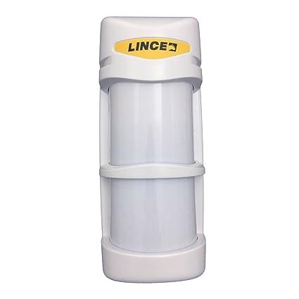 PIR Alarma Detector volumétrico para uso en exteriores con anti - Máscara Lince