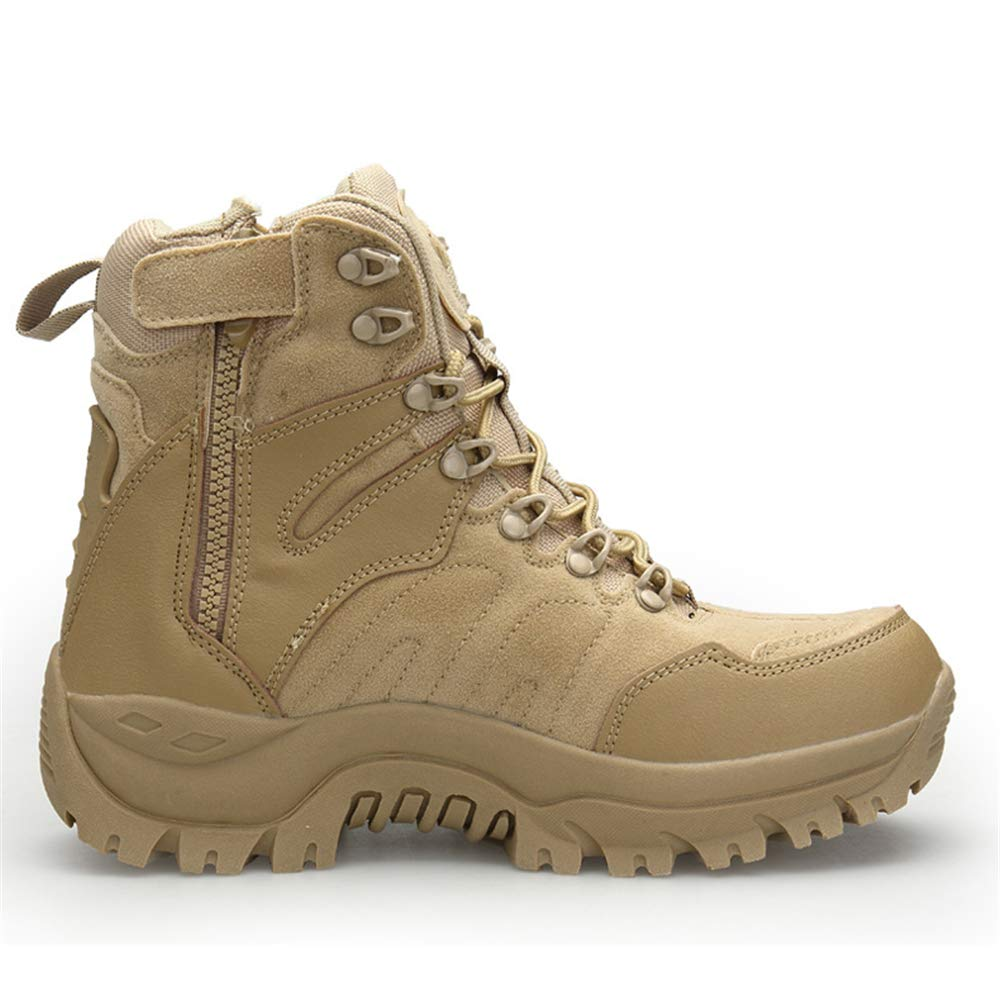 Super frist Mens Military Jungle Boots Durable Desert Boots Combat Outdoor Work Water Resistant Boots