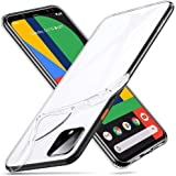 ESR Case for Google Pixel 4, Case Cover with Slim Soft TPU, 1.1 mm Thick Back Case, Shock-Absorbing Air-Guard Corners, Flexible Silicone Cover, Clear