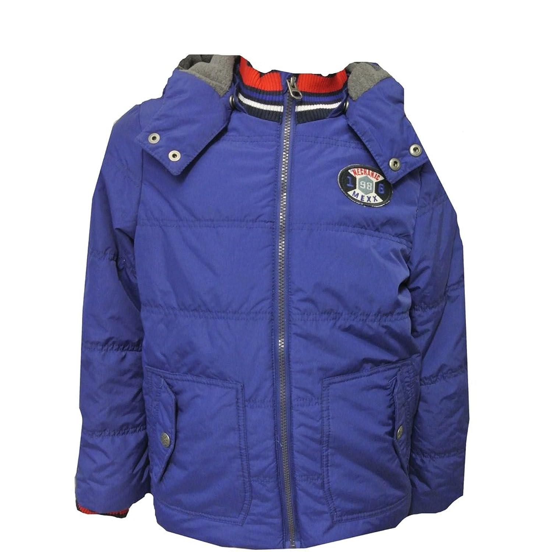 Mexx - Anorak Jungen Winterjacke Jacke Fleecefutter, blau