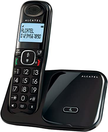 Alcatel Xl280 - Teléfono Fijo, Negro: Alcatel: Amazon.es: Electrónica