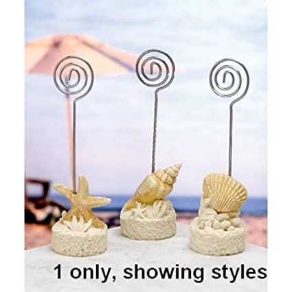 amazon com beach themed placecard holders 23 count home kitchen
