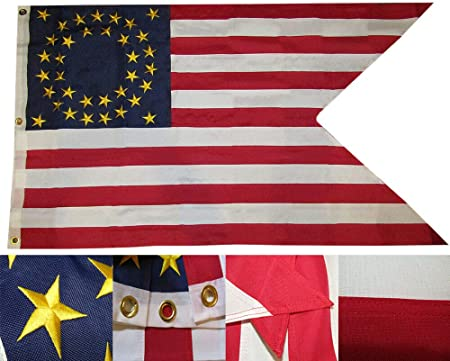 3x5 Union Cavalry Guidon Flag 3/'x5/' Banner Brass Grommets Premium Fabric No Fade
